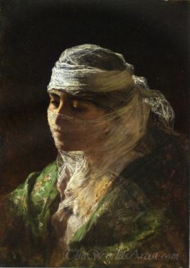 A Veiled Beauty Of Constantinople