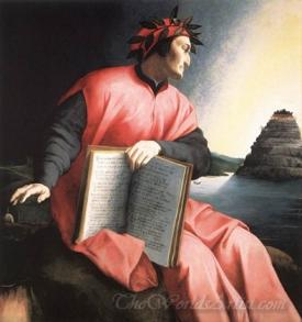 Allegorical Portrait Of Dante
