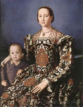 Eleonora Of Toledo With Her Son Giovanni De Medici