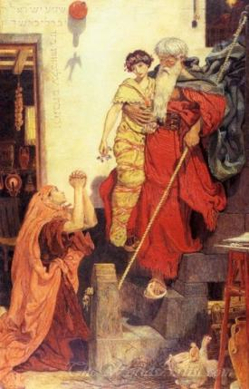 Elijah Restoring The Widows Son