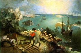 Landscape With The Fall Of Icarus