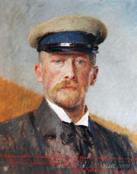 Self Portrait With Captains Hat
