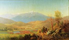 Mt Washington And Saco River