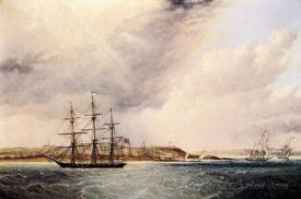 A View Of Nassau In The Bahamas West Indies