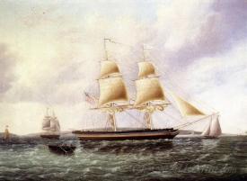 American Brig Off New York