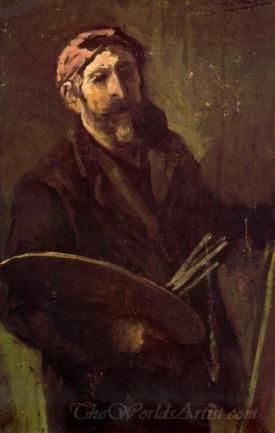 Autorretrato Con Paleta  (Self Portrait With Palette)