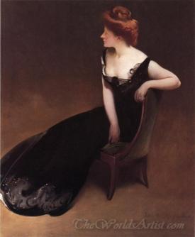 Portrait Of Mrs V Herman Duryea