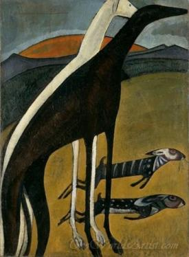 Dos Galgos  (Two Greyhounds)