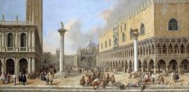 The Piazzetta At Venice