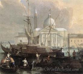 The Sea Custom House With San Giorgio Maggiore