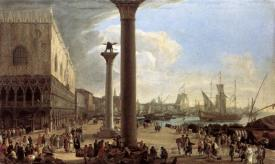 The Wharf Looking Toward The Doges Palace
