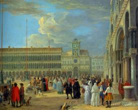 View Of Piazza San Marco