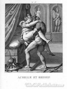 Achille Et Briseis