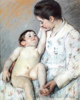 Babys First Caress