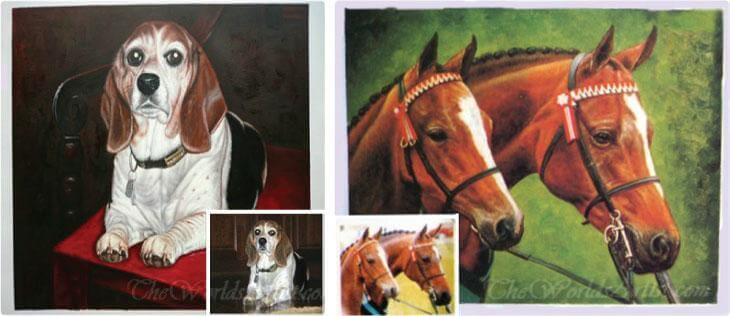 equestrian portraits from photos