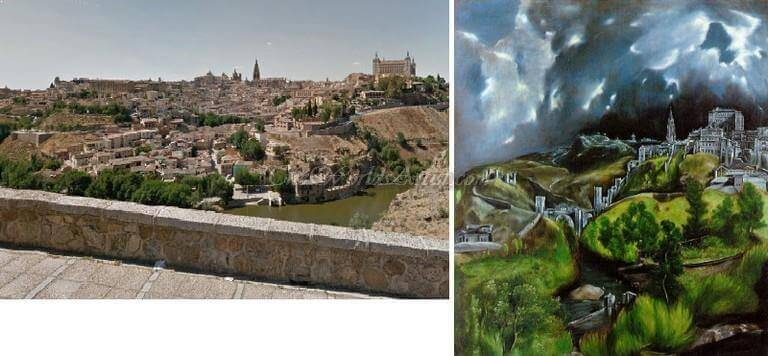 El Greco A View of Toledo