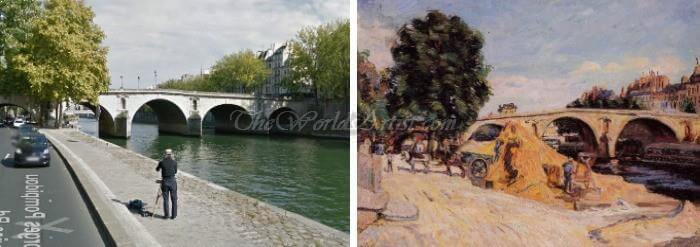 Armand Guillaumin Pont Marie From The Quai d Anjou