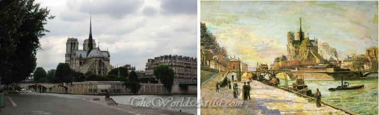 Armand Guillaumin Notre Dame de Paris