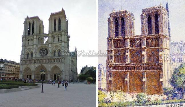 Francis Picabia Notre Dame The Effect Of Sunlight
