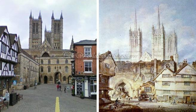 J M William Turner Lincoln Cathedral Church in England