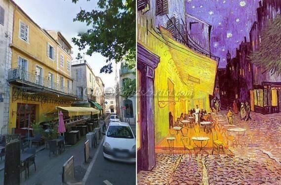 Vincent Van Gogh Café Terrace at Night