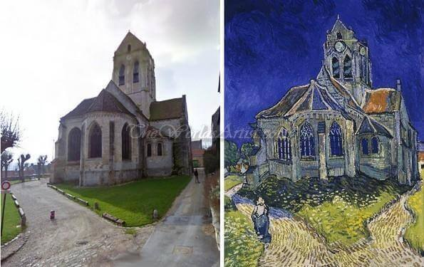 Vincent Van Gogh The Church in Auvers-sur-Oise, View from the Chevet