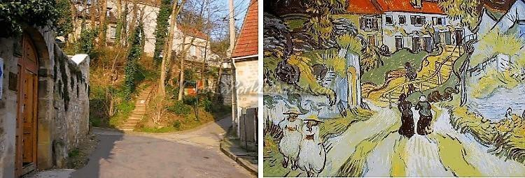 Vincent Van Gogh Stairway at Auvers