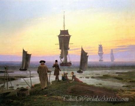 Original Caspar David Friedrich The Stages of Life