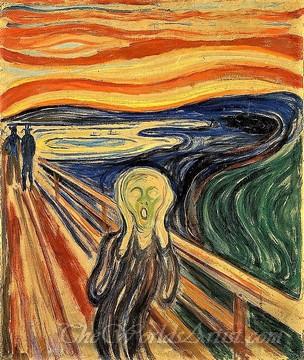 Original Edvard Munch The Scream