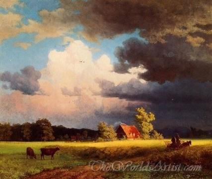 Original John Constable Bavarian Landscape