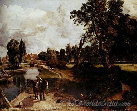 Original John Constable Flatford Mill