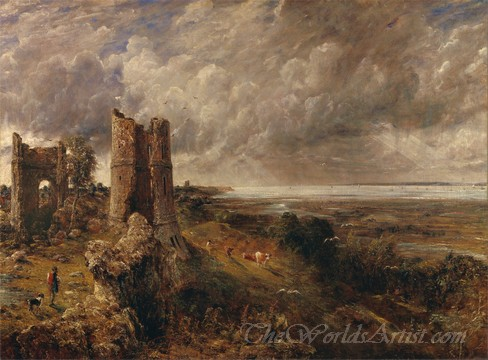 Original John Constable Hadleigh Castle