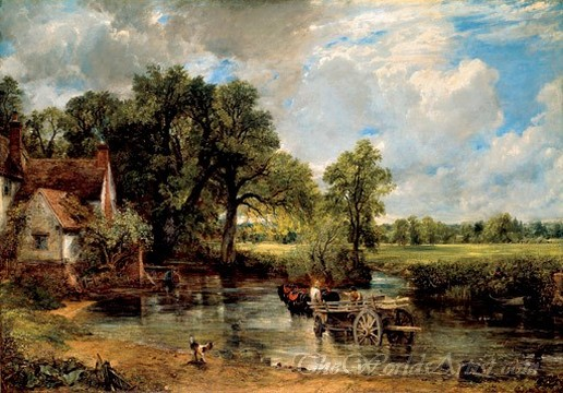 Original John Constable the Hay Wain