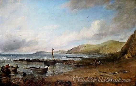 Original John Constable Weymouth Bay