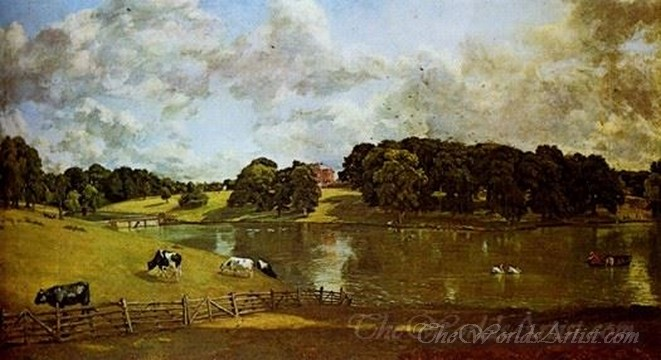 Original John Constable Wivenhoe Park Essex
