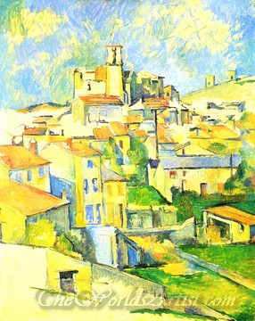 Original Paul Cezanne Gardanne