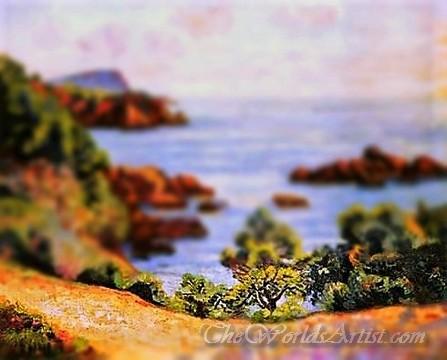 Tilt-Shift Armand Guillaumin Midday Landscape