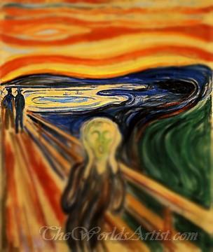 Tilt-Shift Edvard Munch The Scream